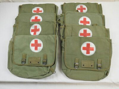 MUSETTE BAG Typ US ARMY WW2 Sani Sanitäter Rot Kreuz Red Cross Willys Jeep