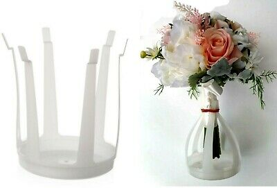 Plastic Bouquet Holders (Pack of 8) Florist Supplies Wedding Bouquet Holder