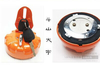 for Fuel Tank Cap With 2 Keys for Daewoo Doosan Excavator DH215-7 DH225-9