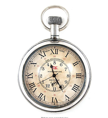 Replica Pocket Watch:  'Titanic' Keepsake perfect for Dad's Father's Day