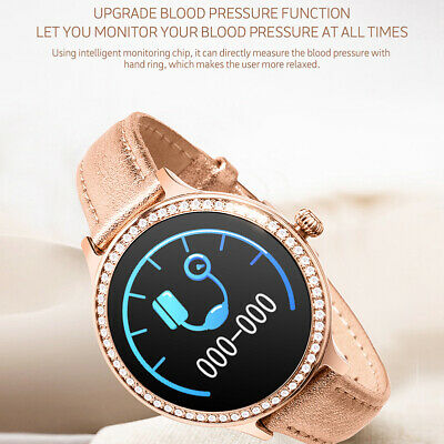 Sport Bluetooth Smartwatch Orologio Donna IOS Iphone Samsung Impermeabile IP68