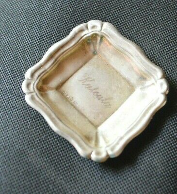 Greek Jewelry Ilias Lalaounis Sterling Silver Small Nuts Tray
