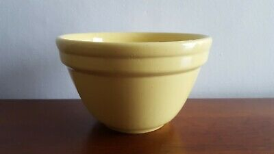 Vintage Retro 1950S Sunflower Yellow Fowler Ware Small Mixing Bowl
