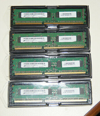Micron 16GB ECC Unbuffered 1600MHZ RAM Kit PC3-12800E