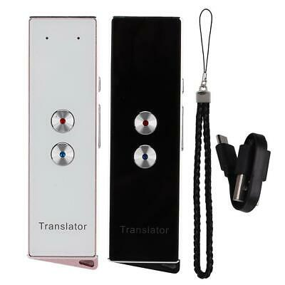 Portable X9 Smart Voice Translator Multi-Language Bluetooth Wireless 3.7V 750mA