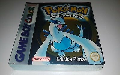 POKEMON PLATA NEW SEALED Game boy color nintendo gbc nuevo pal españa raro