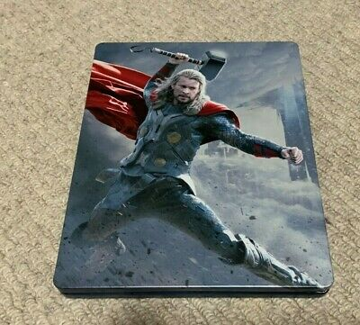 Thor The Dark World Blu-Ray Steelbook - Australian JB HI-FI release Region Free