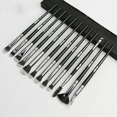 12pcs Pro Makeup Brushes Set Cosmetic Blending Foundation Powder Eyeshadow Brush