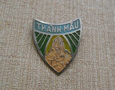 Vintage Vietnam War Vietnamese Arvn Svn Pin Thanh-Mau Virgin Mary Holy Mother