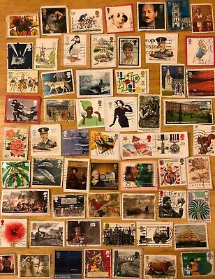 Over 50 GB Commemorative Postage Stamps On Paper Queen Elizabeth II Comms R