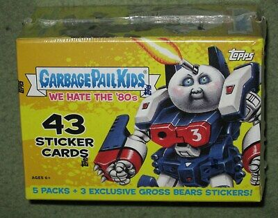 Garbage Pail Kids We Hate the 80s Trading Card BLASTER Box [5 Packs]