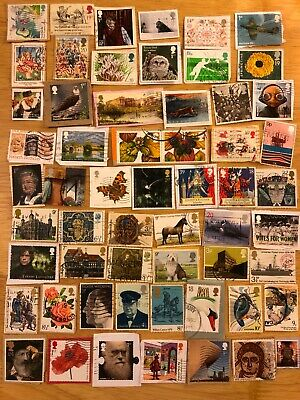 Over 50 GB Commemorative Postage Stamps On Paper Queen Elizabeth II Comms L