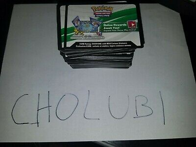 Pokemon TCG Online HUGE CODE LOT - VARIOUS SETS 140+(Read Description)