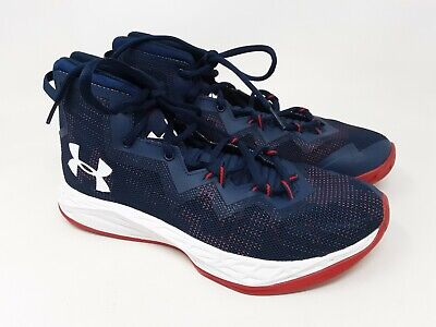 NEW Under Armor UA BGS JET MID 1274067-941  youth BIG KIDS Basketball Shoes
