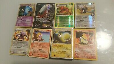 Lot n°7 : 50 cartes pokemon EX HOLO PRIME REVERSE FULL ART