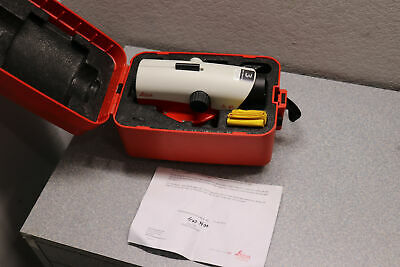 Leica Geosystems NA730 Plus Automatic Optical Level w/ Hard Case
