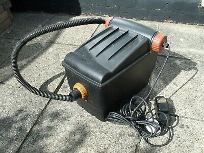 Aquagarden Gravity Pond Filter 6250. With Instructions And 5 Metres Of Cable.