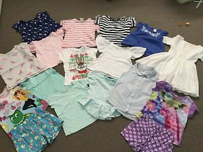 Girls Bulk Size 4 Summer Clothes - VGUC Neon, Mango, Kids & Co and more.