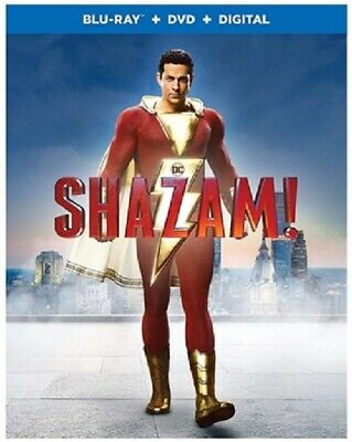 Shazam! 06/19 (used) Blu-ray Only Disc Please Read