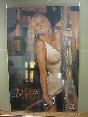 Vintage Neriah Davis Car Garage poster man cave hot girl 1997  1782