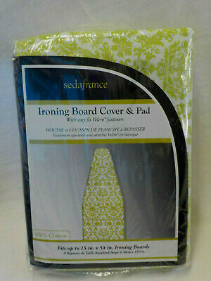 WHITMOR SUPREME IRONING BOARD COVER AND PAD SAVVY FLORAL  NIP