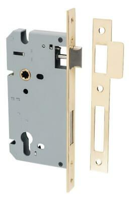 high security euro mortice lock 85 mm,range of finishes,60 mm backset