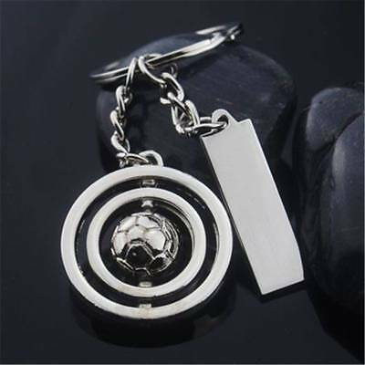 3D Sports Rotating Soccer Football KeyChain Car Pendant Unique Children Gifts B