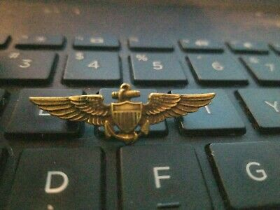 Ww2 Us Navy Minutrue Officer Wing Rare --See Store Sale --3 Auctions A Week