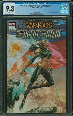 War of the Realms: New Agents of Atlas #1 CGC 9.8 1st Wave Mico Suayan Variant