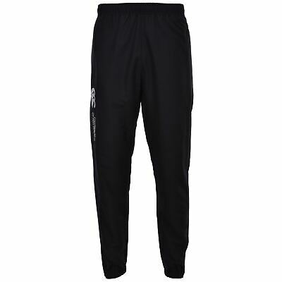 Canterbury Mens Cuffed Stadium Training Sports Long Tracksuit Bottoms Pants