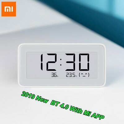 2019 Xiaomi Mijia Wireless Smart Electric Digital Clock Hygrometer Pc