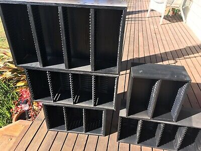 CD TOWERS / HOLDERS STORAGE x 5