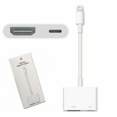 1080P Apple Lightning to VGA Adapter for iPhone iPad MD825AM/A Model A1439
