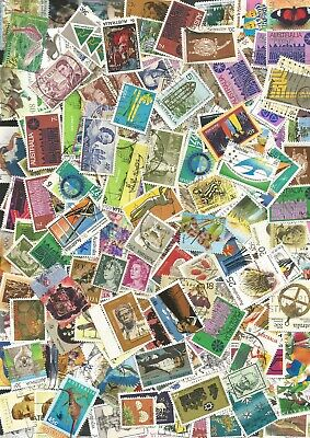 Australian Decimal Stamps Bulk Lot Of 200 Different Used To $5,  39/41