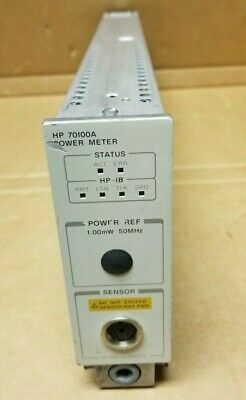 HP / Agilent 70100A Power Meter - 1mW, 50MHz