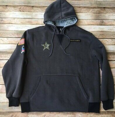 finest selection 691f0 f3590 NIKE DALLAS COWBOYS 2017 NFL Salute to Service Hoodie (XL ...