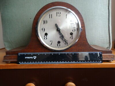 Enfield Westminster Chime Napoleon hat Clock & Key