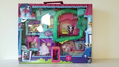 LPS Littlest Petshop Launch pets Penny Ling #2695 Rolleroos house playset NRFB