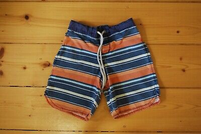 COUNTRY ROAD Boys Striped Board Shorts Size 6-7