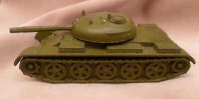 "6655 USSR/CCCP/SOVIET UNION COLD WAR "" T-55 TANK "" METAL TOY 1970/80s"