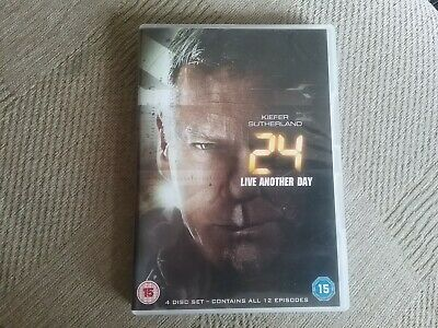 24 live another day dvd freepost in good condition