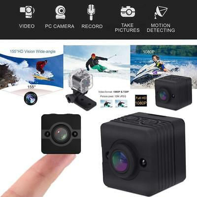 SQ12 Mini Camera de Sport HD DV Camescope 1080P Vision nocturne Camera