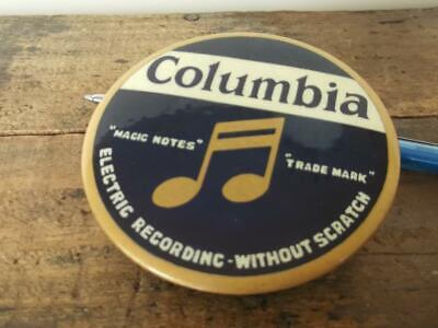 Collectable ''Columbia'' Gramophone Record Duster ''Magic Notes'' Trade Mark