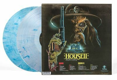 House / House 2 - 2 x LP Clear Blue Vinyl - Limited Edition - Harry Manfredini