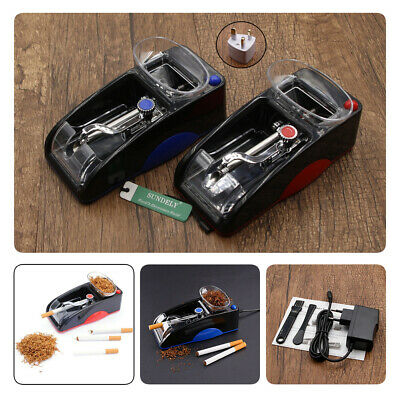 DIY Electric Automatic Cigarette Roll Machine Tobacco Injector Make Roller Hot