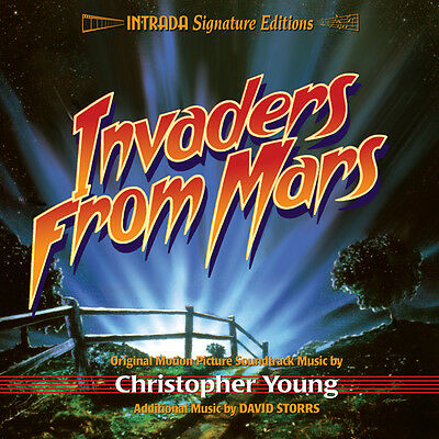 Invaders From Mars - 2Cd Complete Score - Limited 1200 - Oop - Chris Young