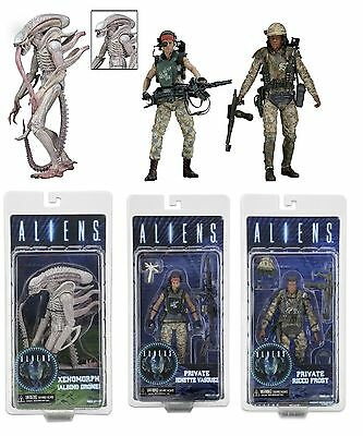 """Aliens - 7"""" Scale Figures (3 Variations) - Series 9 - (DISCONTINUED) - NECA"""