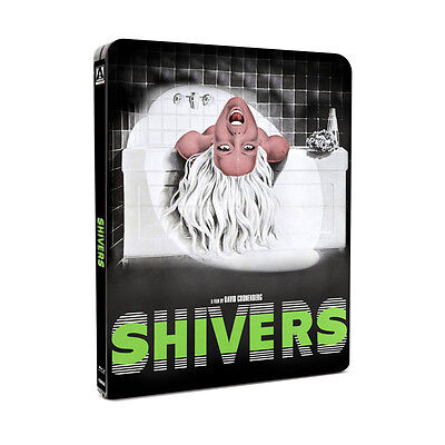 Shivers - 2 Disc Blu-Ray - Uncut - Limited Edition Steelbook - David Cronenberg