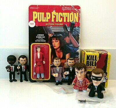 Collection Of Quentin Tarantino Figures Pulp Fiction Kill Bill