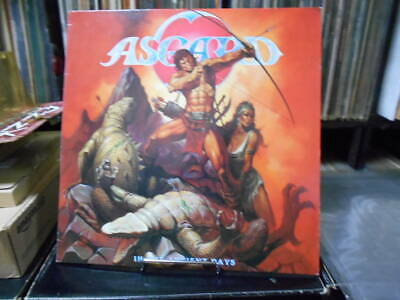 Asgard Netherlands In The Ancient Days1986 Orthodox Speed Metal 12 Inch Record